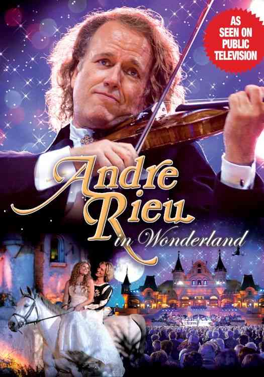 ANDRE RIEU IN WONDERLAND BY RIEU,ANDRE (DVD)
